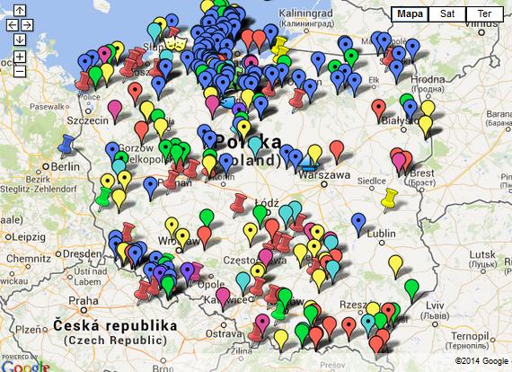 Kamperowe Miejscówki w Polsce – FREE lub prawie