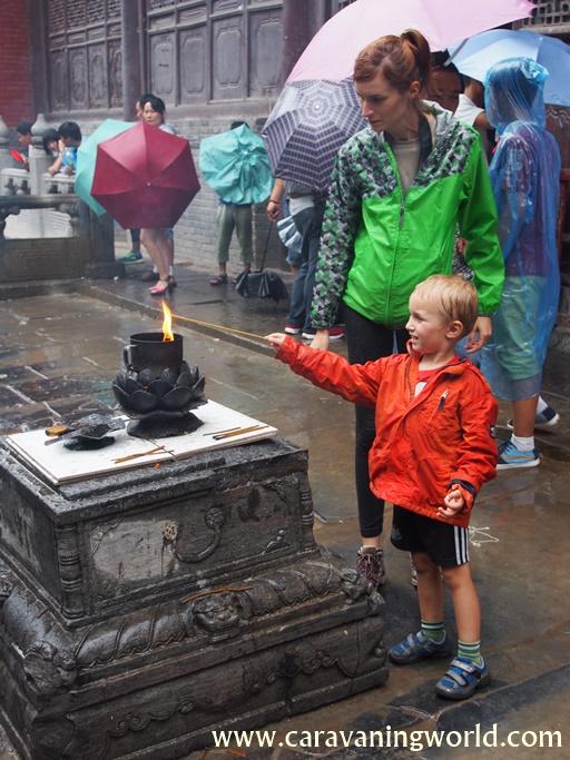 Zapalamy kadzidełka w Shaolin