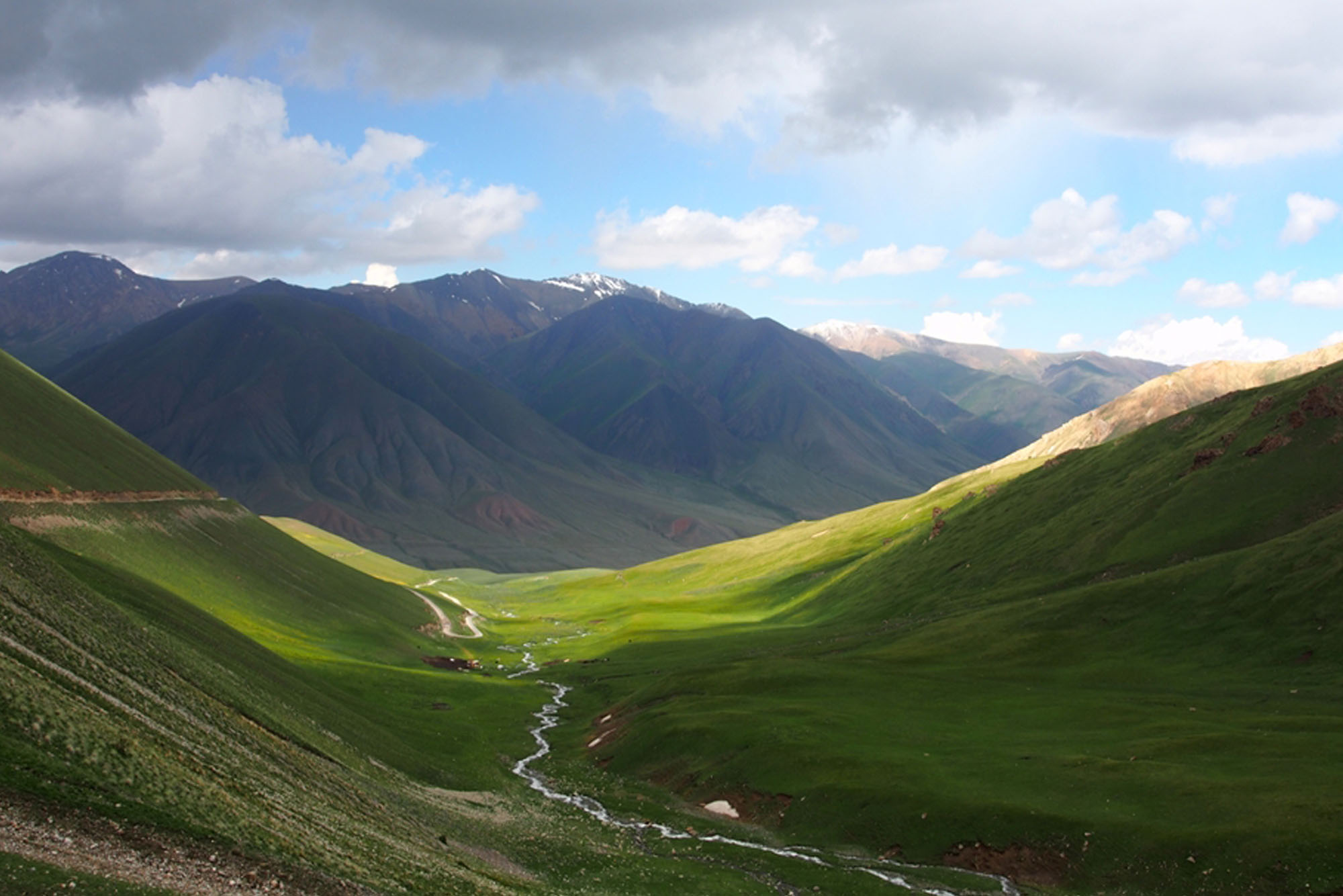 W drodze nad Song-kul – Kirgistan