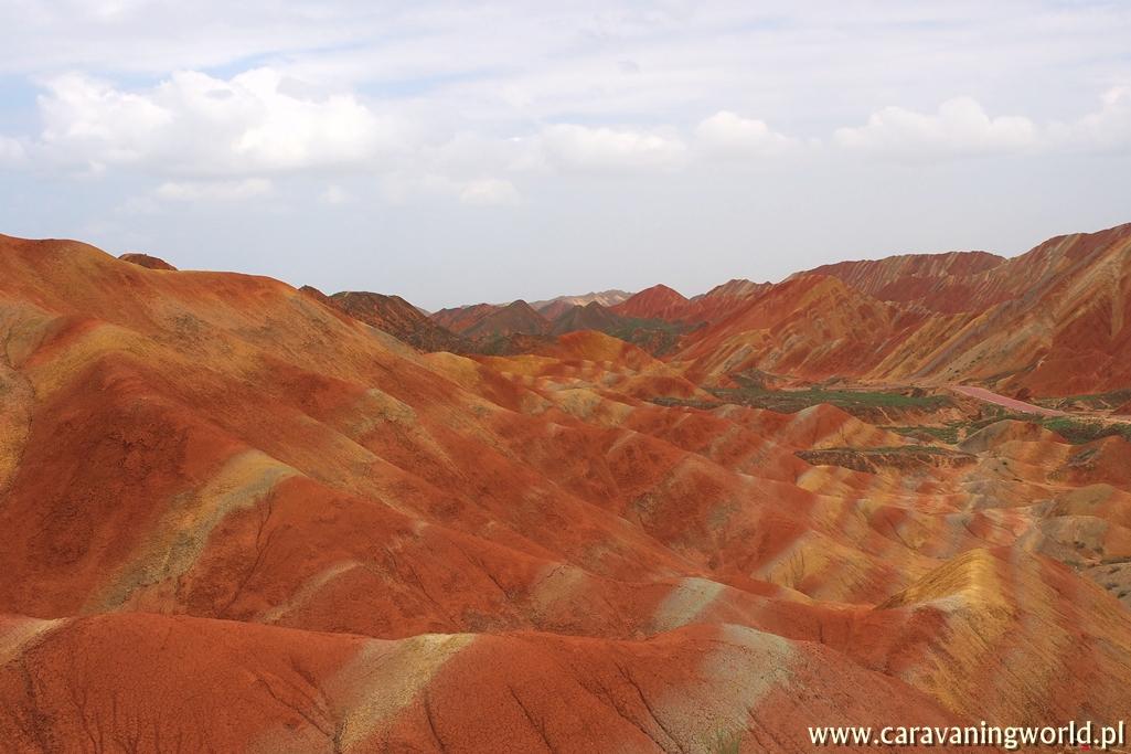Góry Tęczowe w Zhangye – Chiny