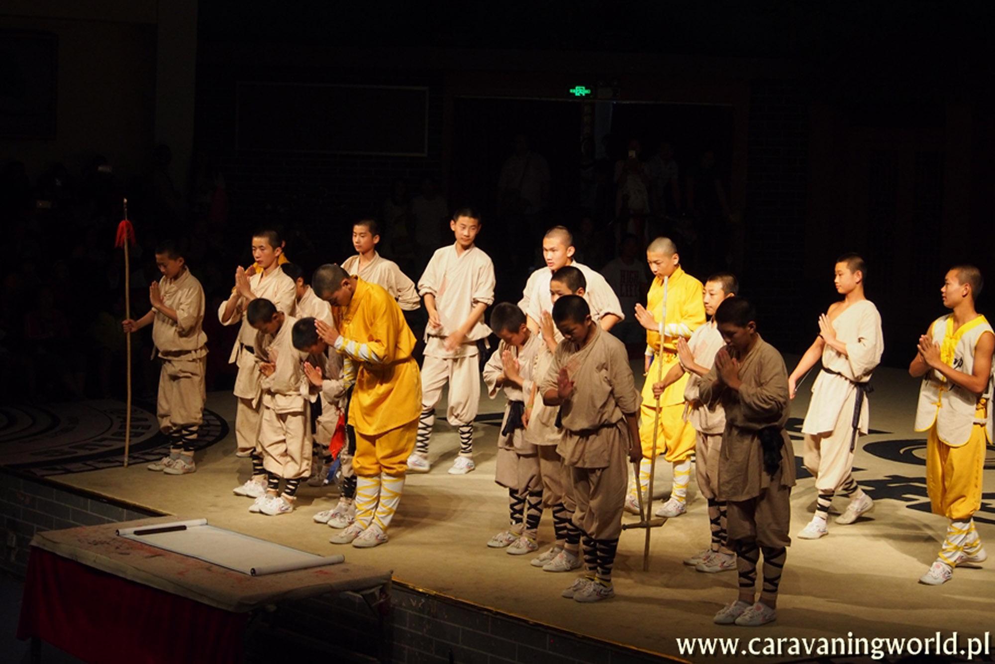 Klasztor Shaolin – Chiny