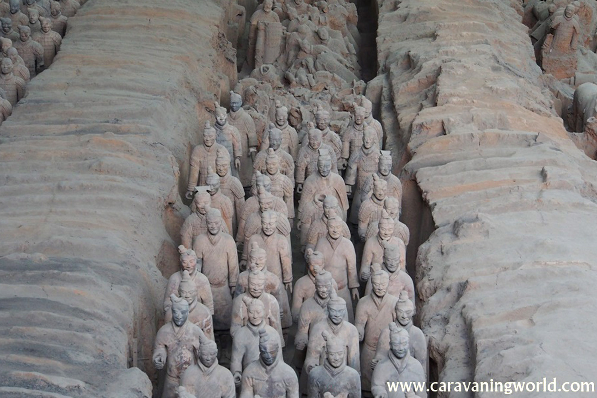 Terakotowa Armia – Ósmy cud Świata w Lintong Xi'an – Chiny