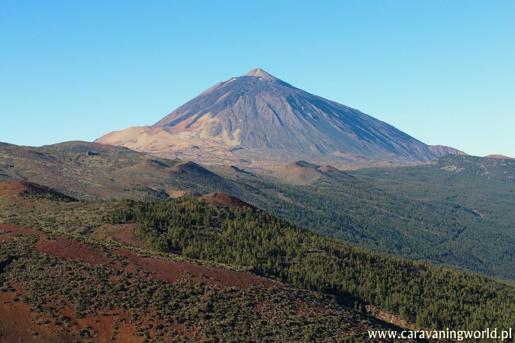 Pico del Teide na Teneryfie