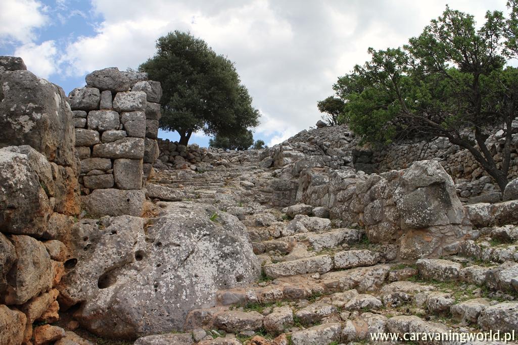 Pozostałości po starożytnym mieście Lato