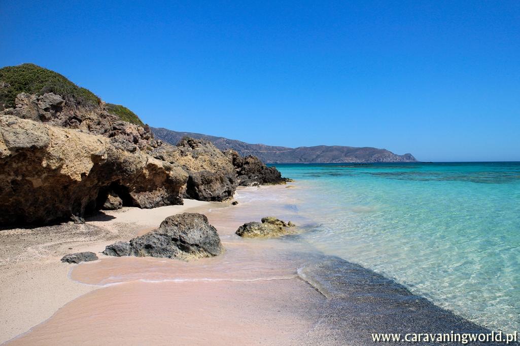 Przepiękne kolory plaży Elafonisi