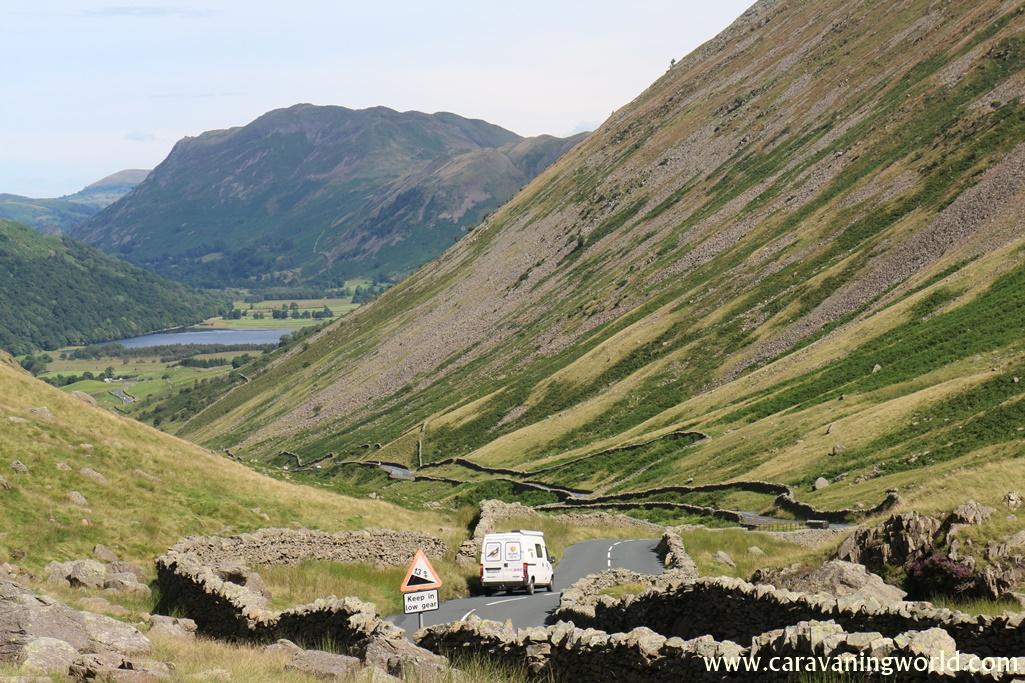 Przepiękne górskie drogi, Anglia
