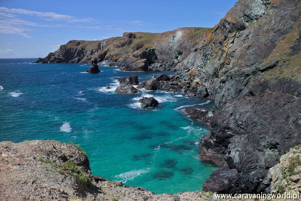 Lizard Point i Kynance Cove – skarby Kornwalii