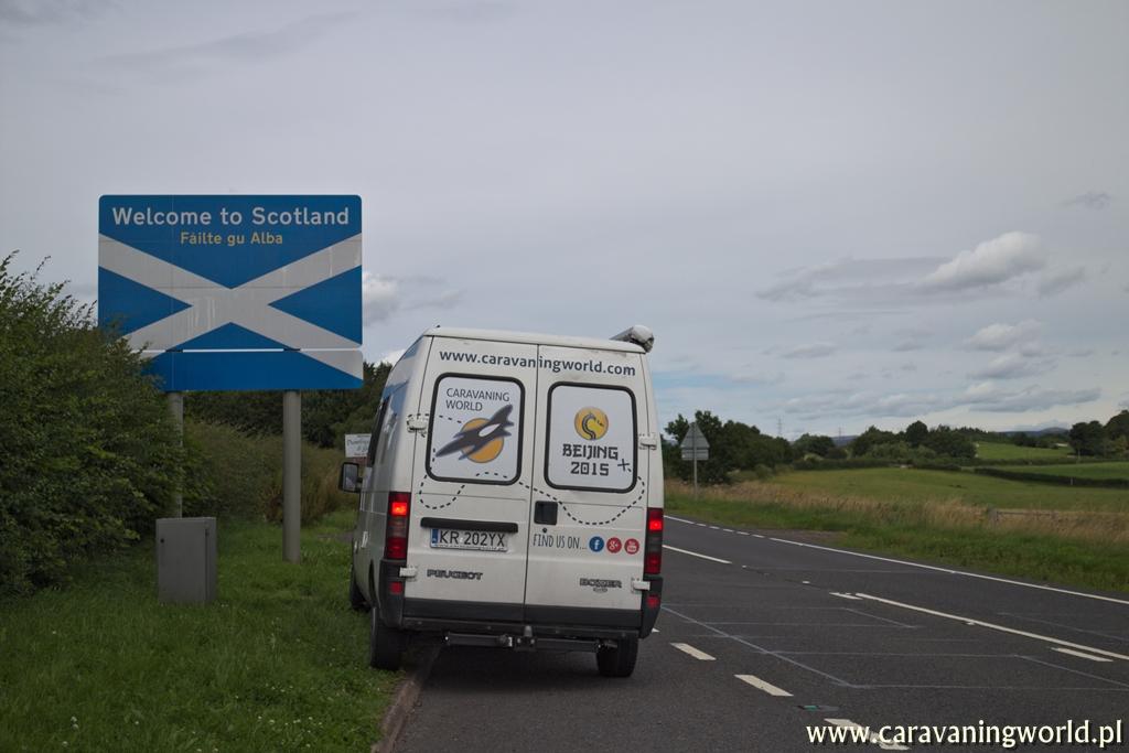 Witamy Cię Szkocjo!
