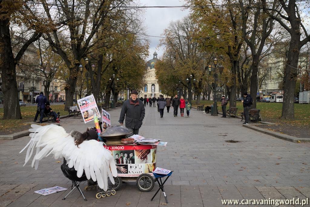 Lwów - Prospekt Swobody we Lwowie