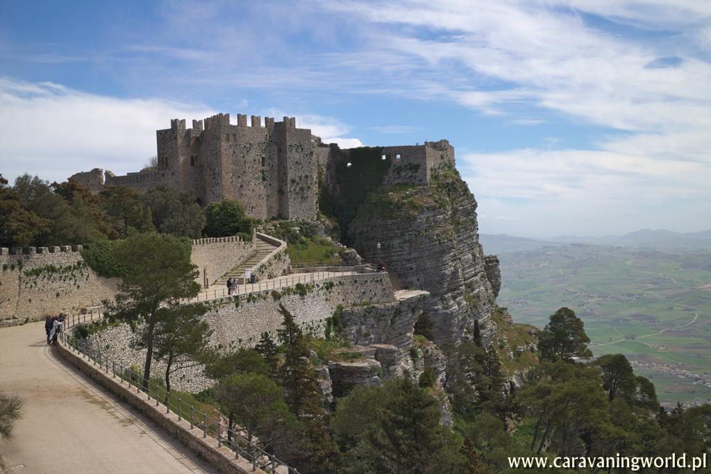 Zamek w Erice