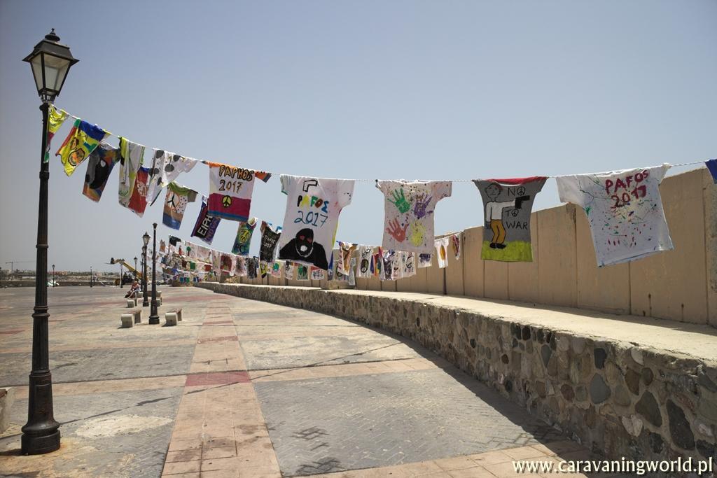 Manifestacja pokoju na Cyprze