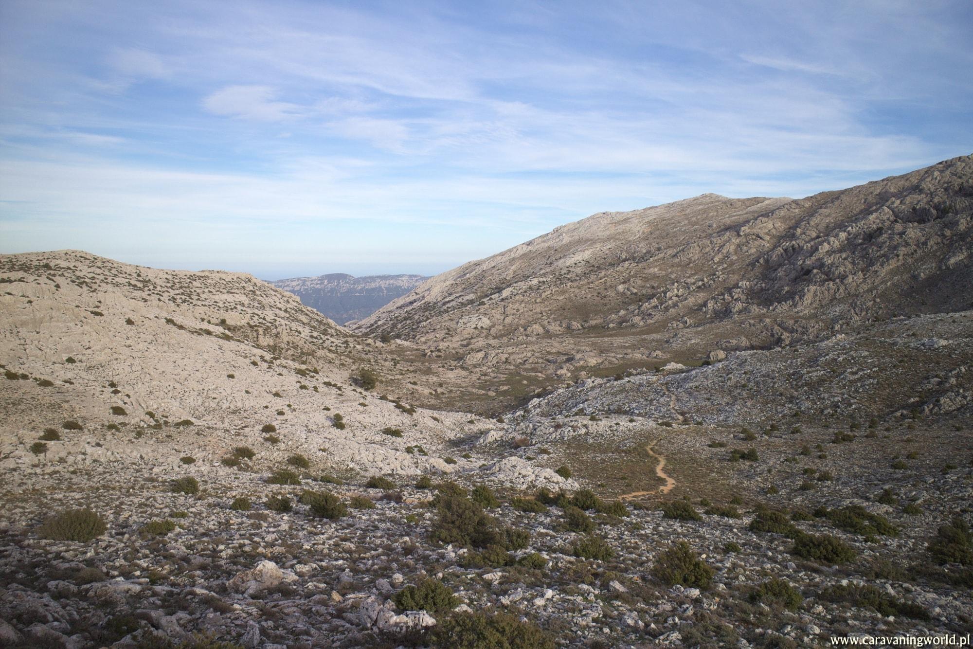 Z widokiem na płaskowyż Supramonte