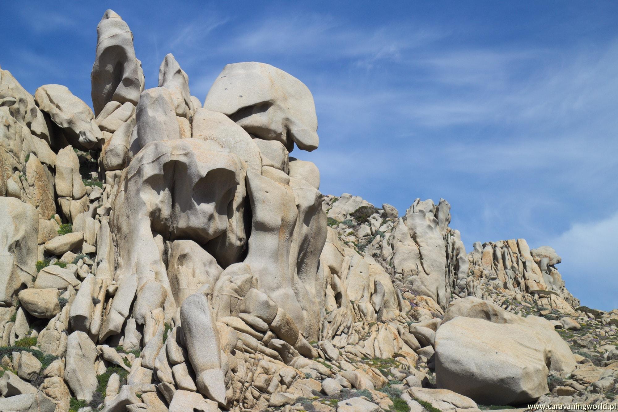 Wariacje skalne Capo Testa