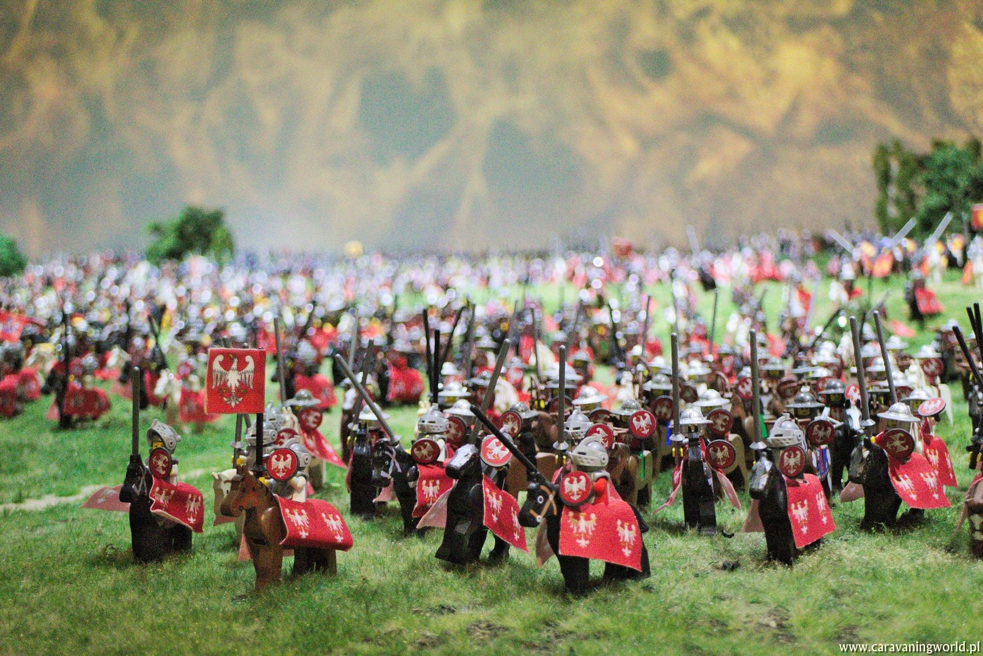 Rycerze polscy w Bitwie pod Grumwaldem