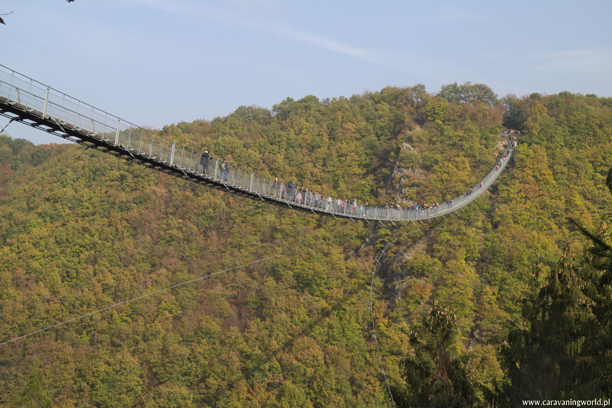Most Geierlay – najpiękniejszy most linowy w Niemczech
