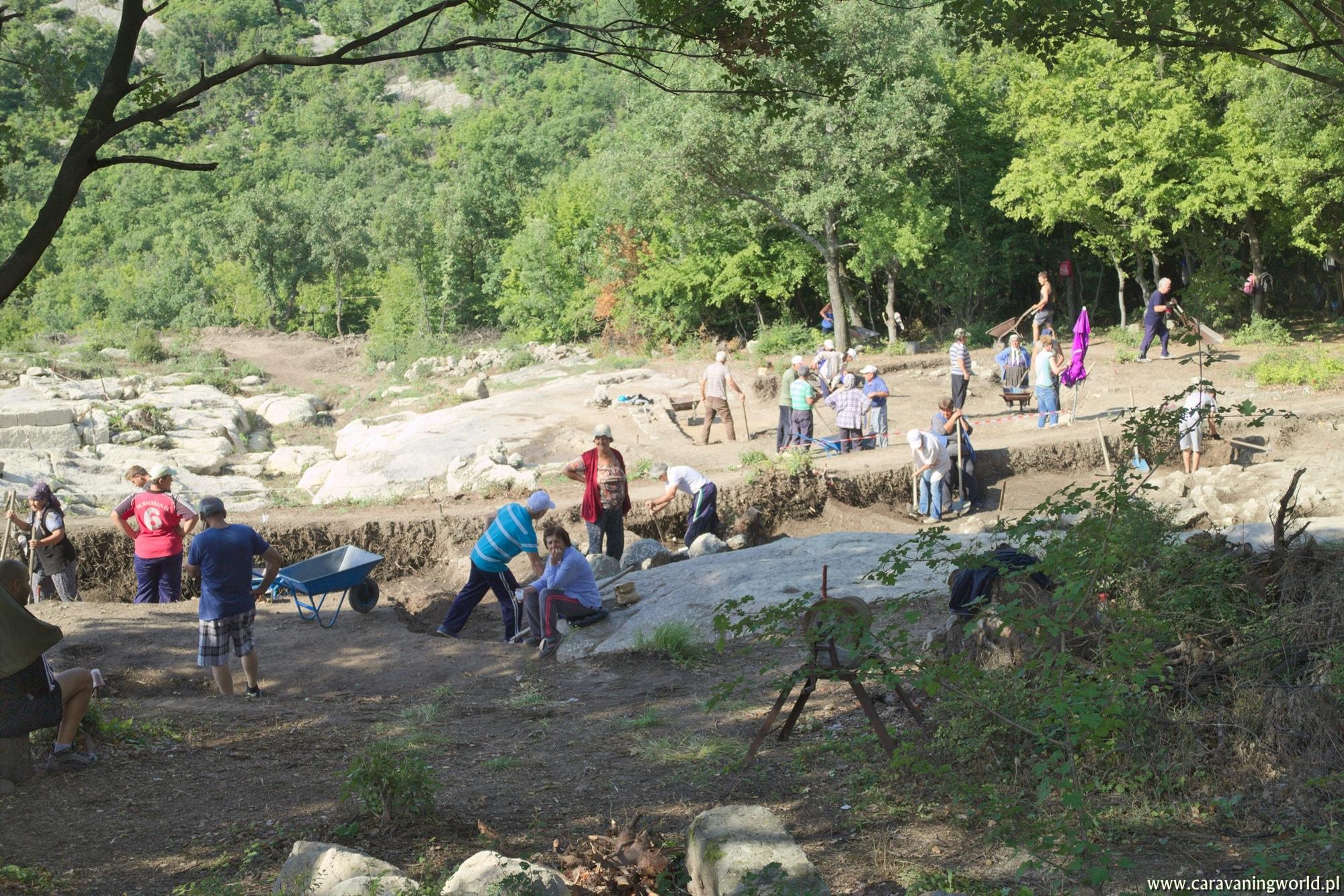Wykopaliska w Perperikon