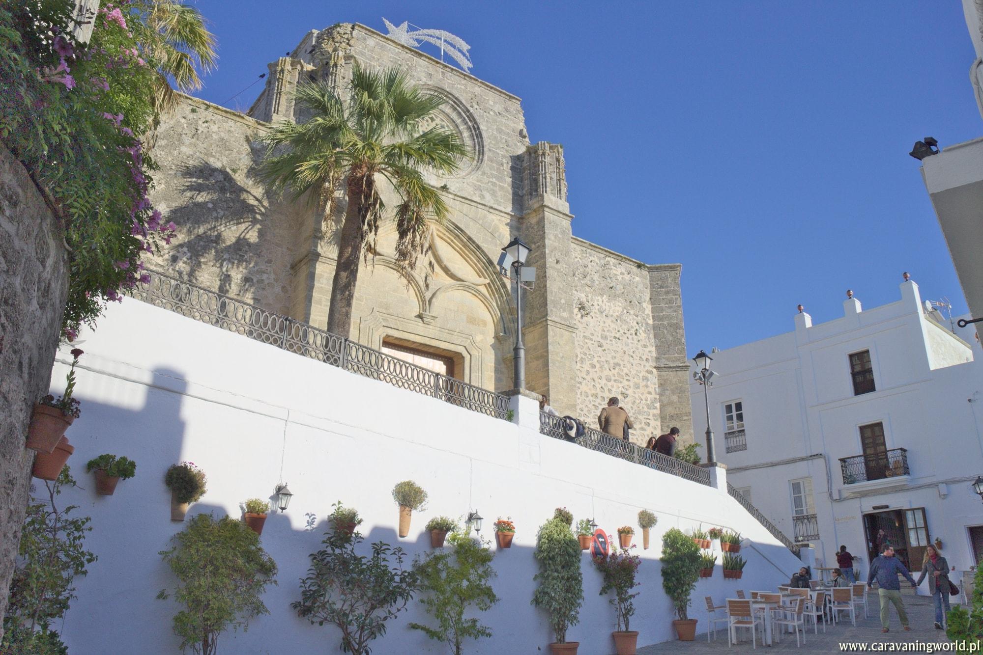 Kościółek w Vejer de la Frontera