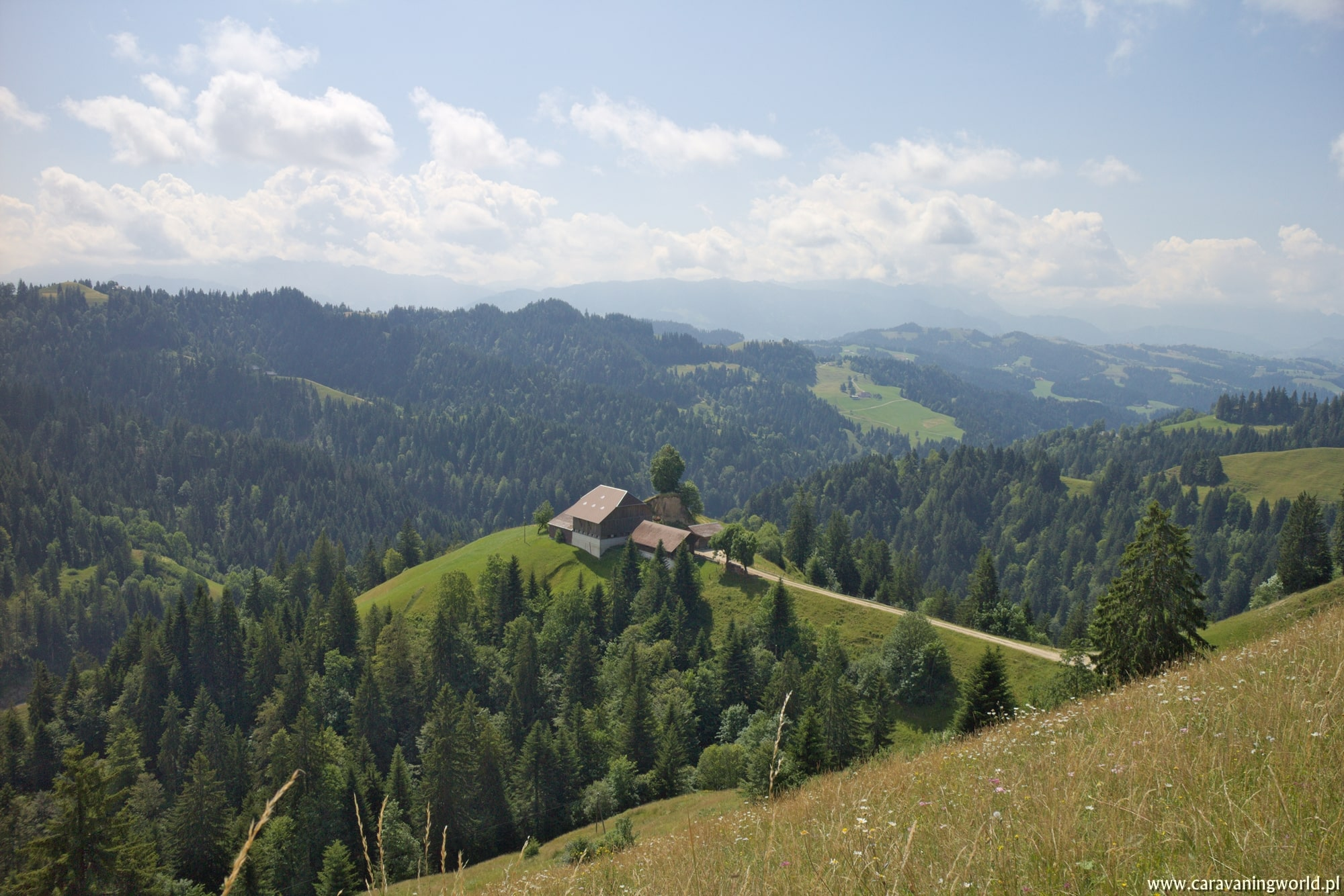Widoki na Region Emmental