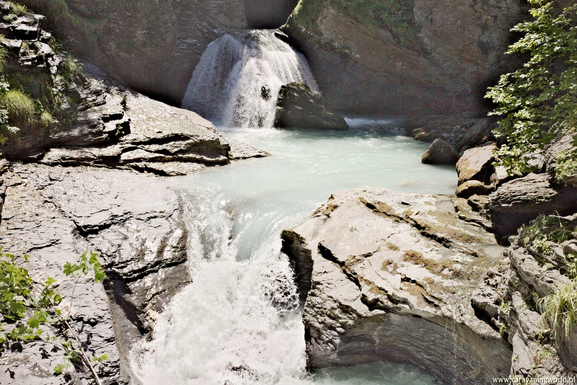 Wodospady Reichenbachfall