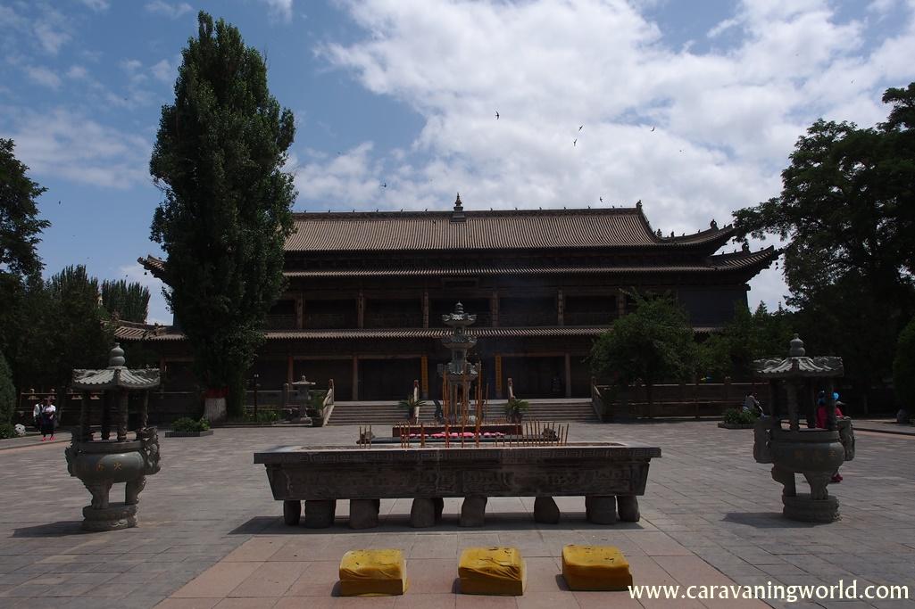 Świątynia wielkiego Buddy w Zhangye