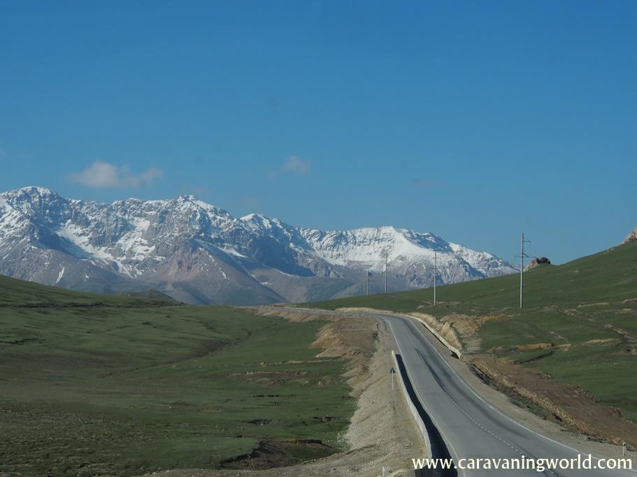 Góry w Kirgistanie