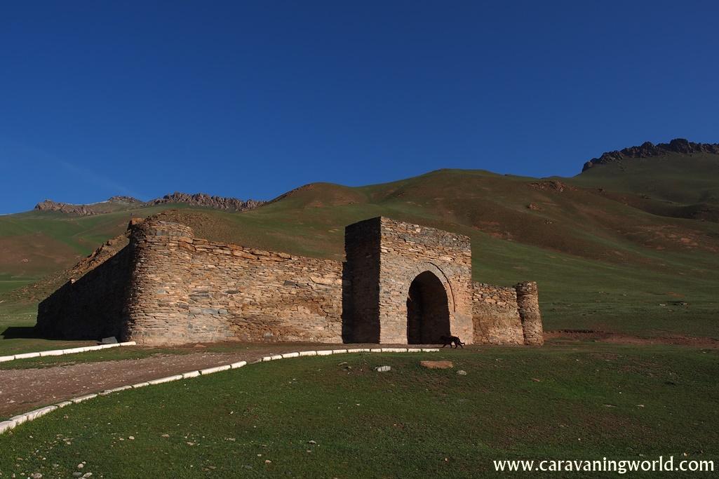 Tash Rabat w Kirgistanie