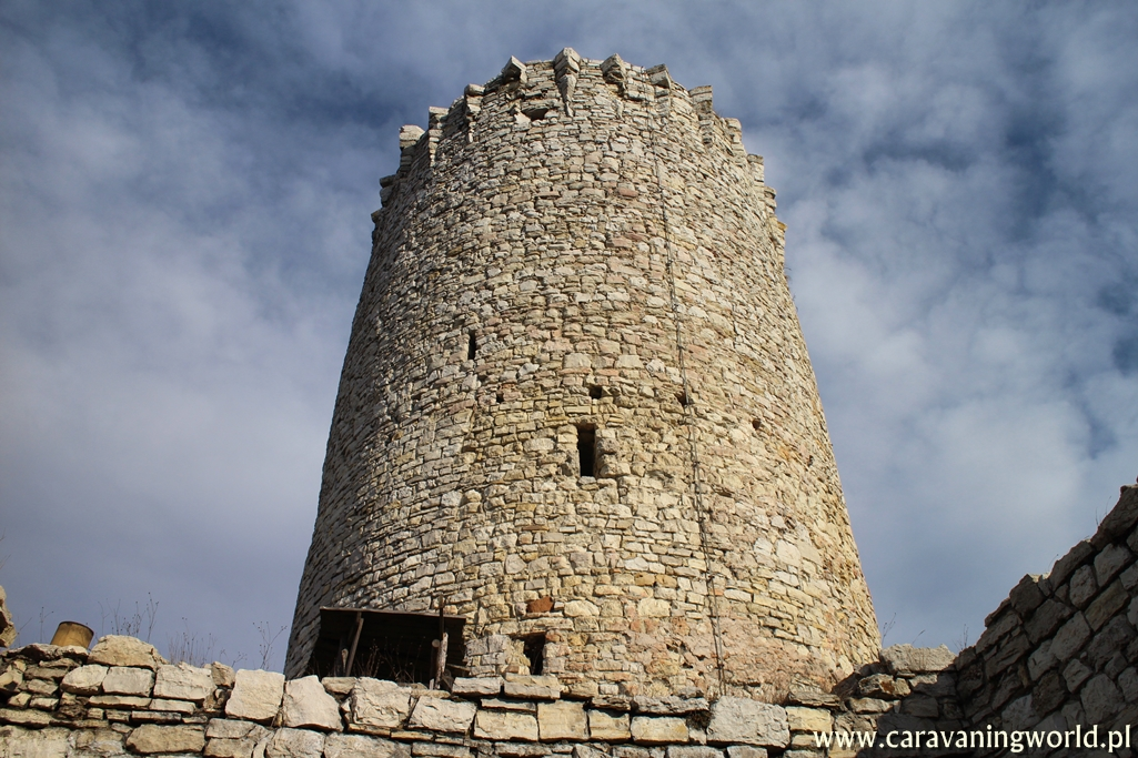 Wieża zamkowa na Zamku Lipowiec