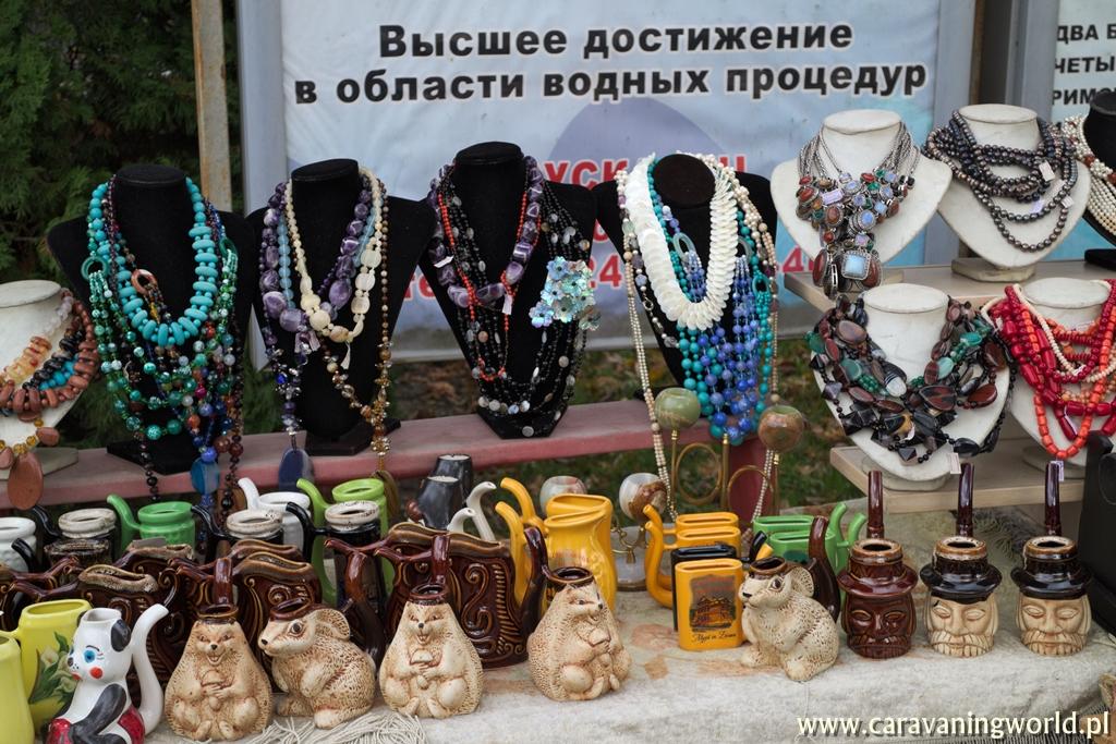 Truskawiec - Kramy z pamiątkami w Truskawcu