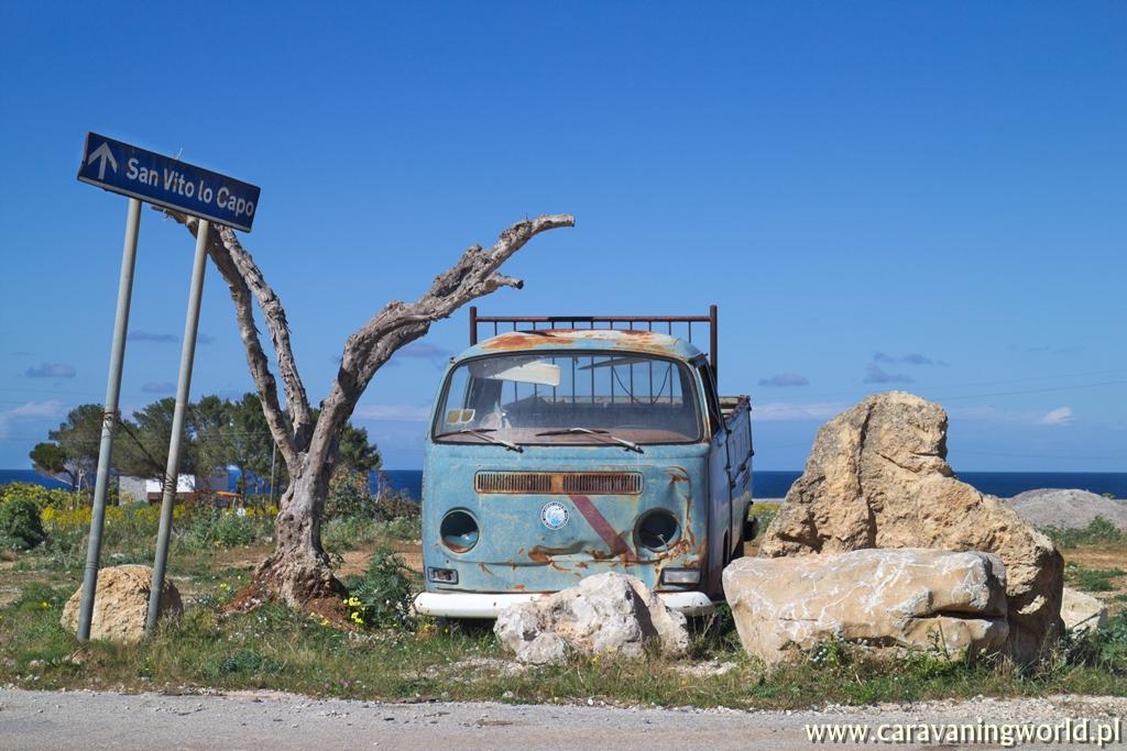 W drodze nad San Vito lo Capo