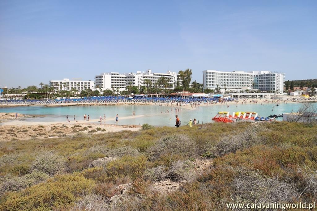 Widok na Nissi Beach