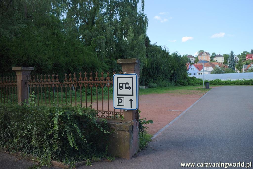 Parking dla kamperów w Niederbronn-les-Bains