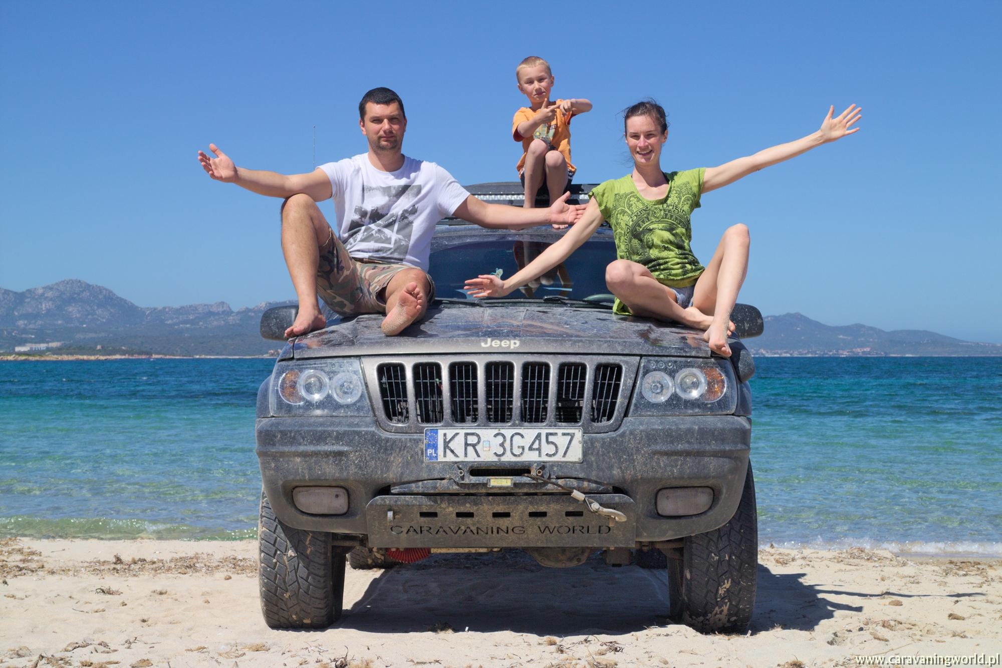 Caravaningowy jeep