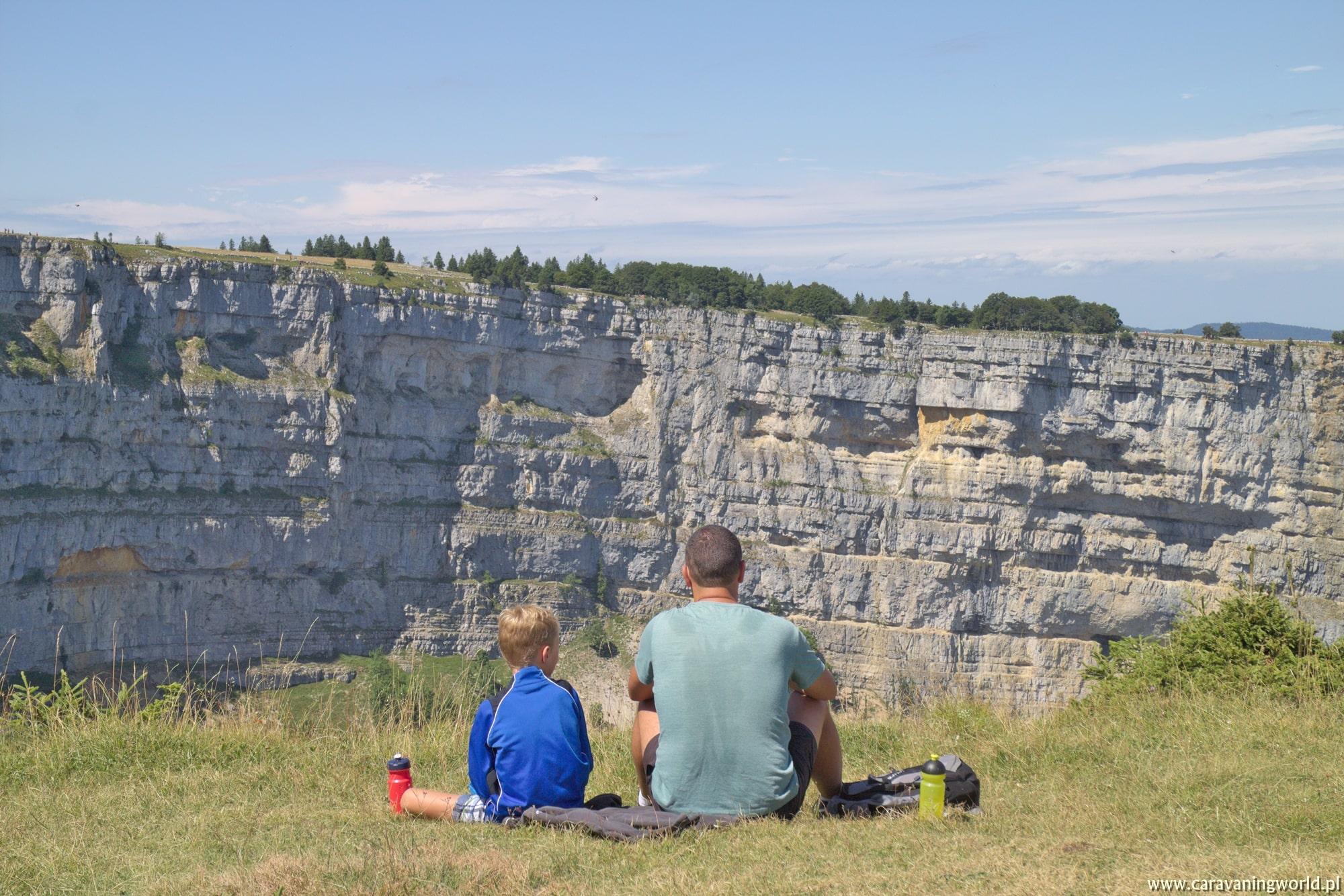 Piknik z widokiem na Creux du Van