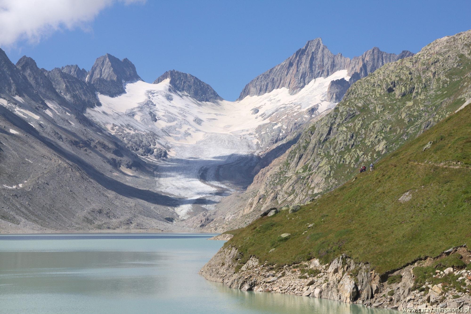 Widok na Oberaargletscher
