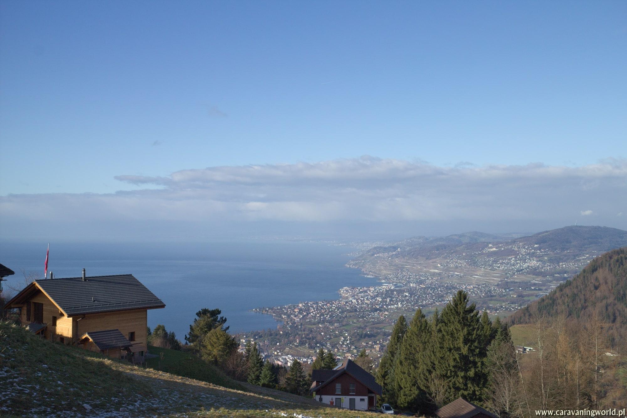 Widok na Jezioro Genewskie z innej perspektywy