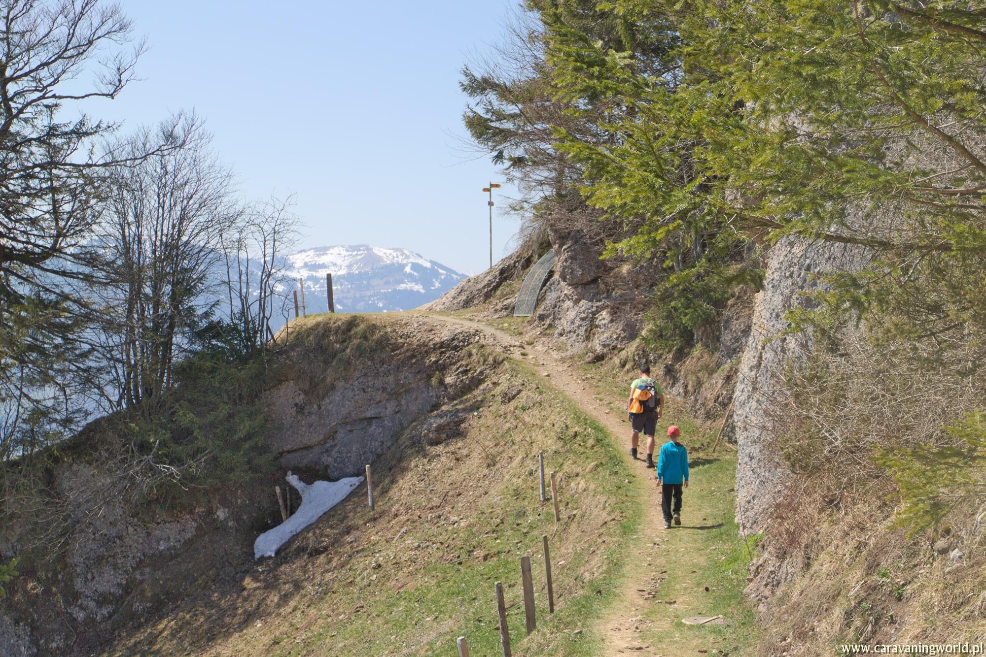 W drodze na Wildspitz