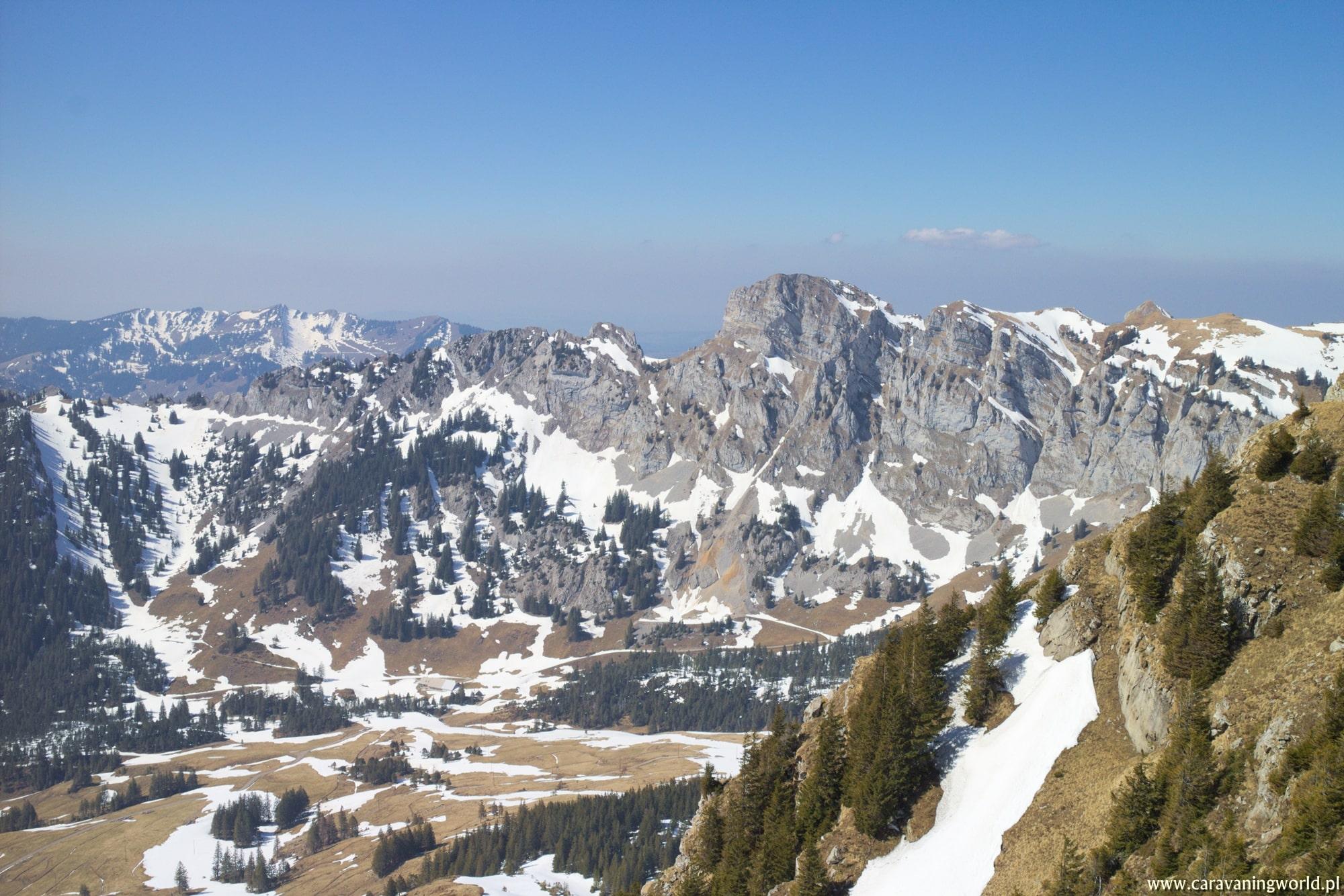 Widoki ze szczytu Fürstein