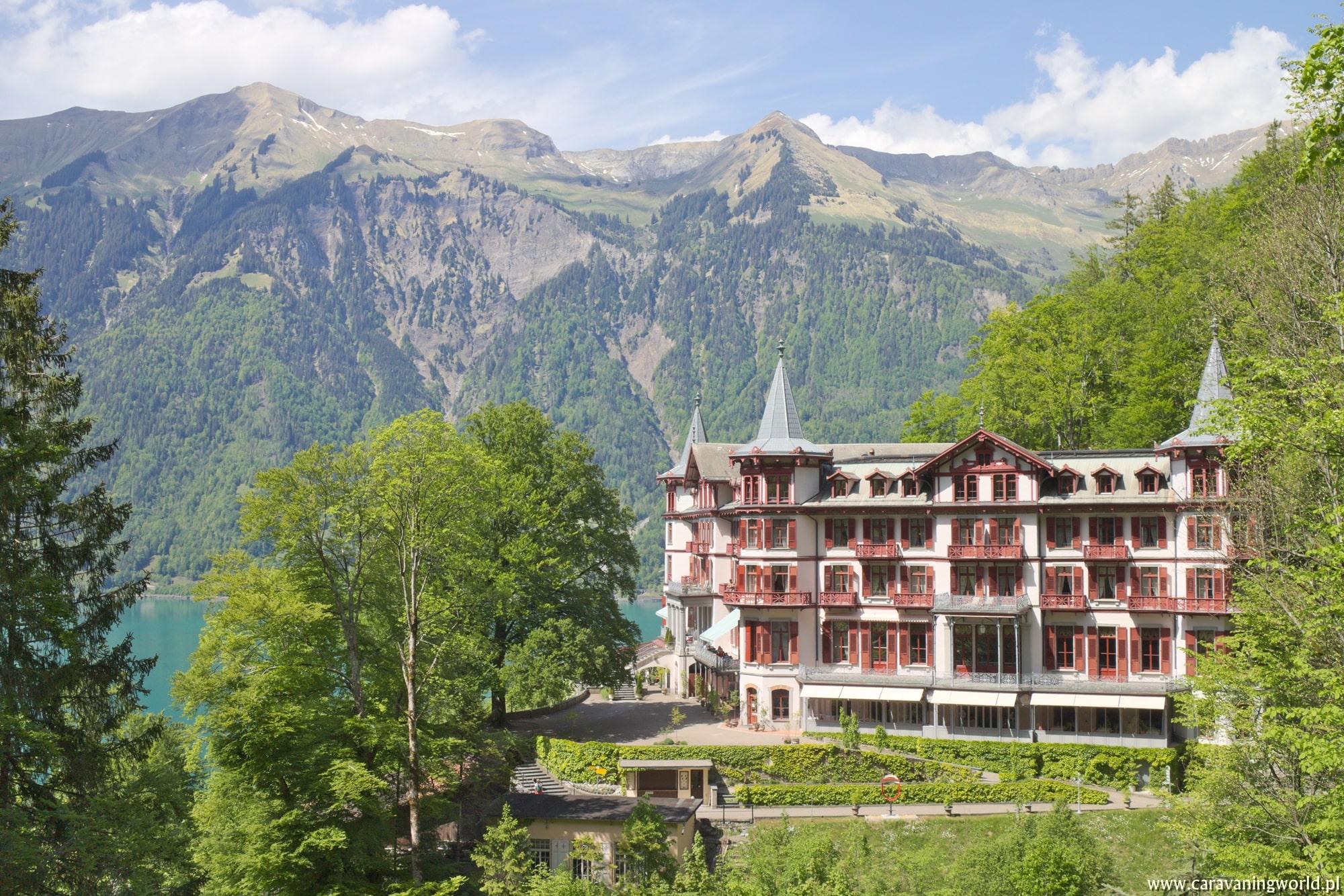 Bajeczny Grandhotel Giessbach