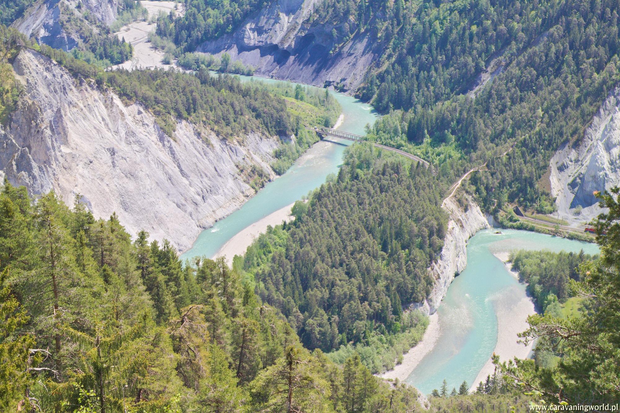 Ruinaulta - Wielki Kanion Szwajcarii