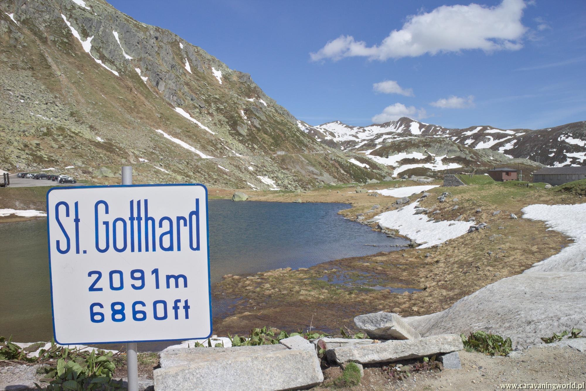 Przełęcz Świętego Gottharda