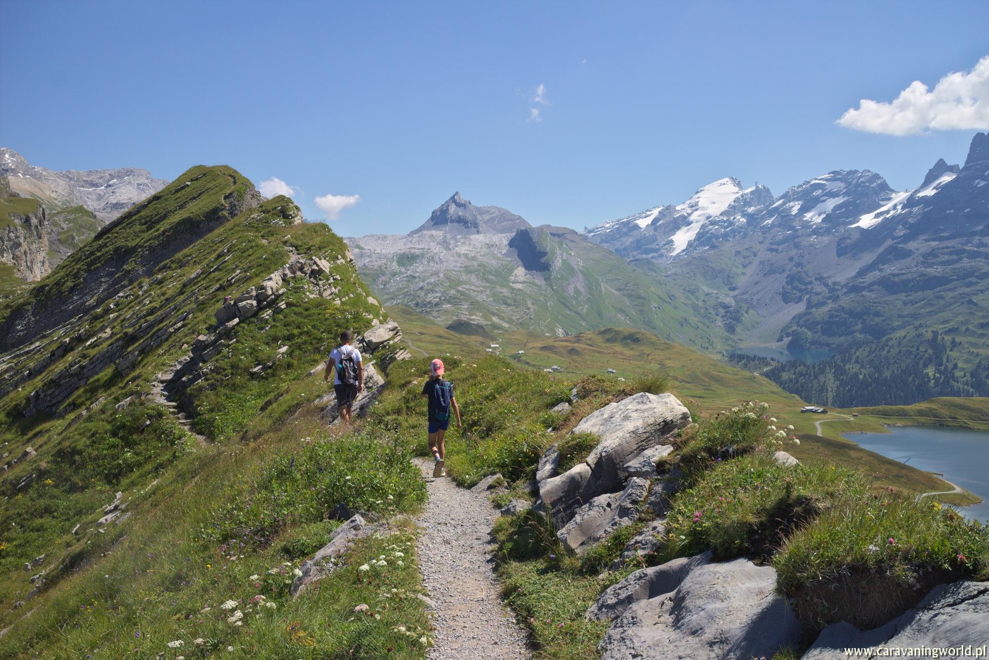 Trekking nad Melchsee-Frutt